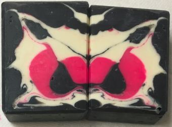 Inkblot soap- failed01